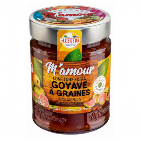 GUY LESUEUR Seed guava jam M'AMOUR 325g