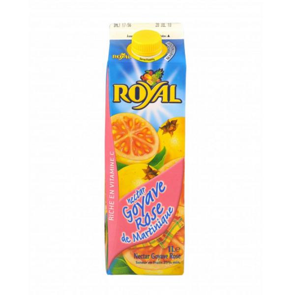 Nectar de Goyave rose ROYAL 1L