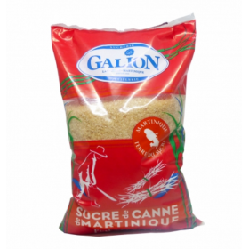 Sucre pur canne de Martinique LE GALION 1kg