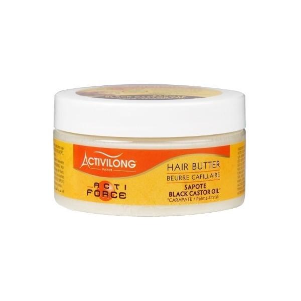 ACTIVILONG Beurre capillaire BLACK CASTOR OIL 100ml