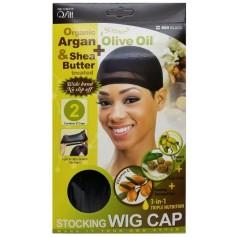 OLIVE ARGAN & KARITE 800 BLACK stretch cap
