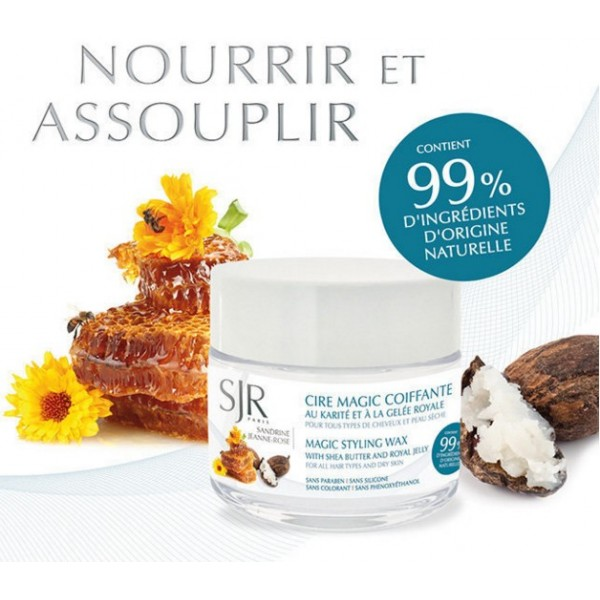 SJR Cire hydratante MAGIC Karité & Gelée Royale 50ml
