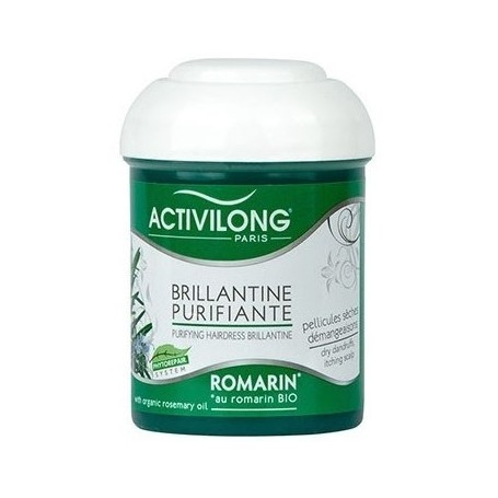 ACTIVILONG Brillantine purifiante au Romarin Bio 125ml
