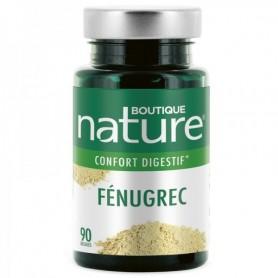 BOUTIQUE NATURE Complément alimentaire FÉNUGREC 90 gélules