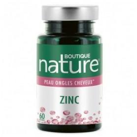 BOUTIQUE NATURE Complément alimentaire ZINC 60 gélules