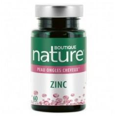 Complément alimentaire ZINC 60 gélules (Peau/Ongles/Cheveux)