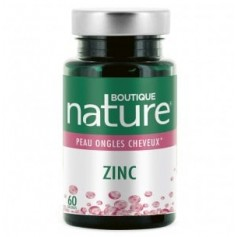 Food supplement ZINC 60 capsules (Skin/Nail/Hair)