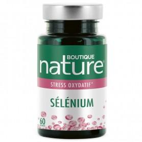 BOUTIQUE NATURE Complément alimentaire SÉLÉNIUM 60 gélules