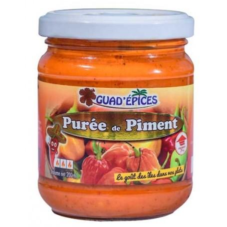 Purée de piment des Antilles GUAD'ÉPICES 200ml