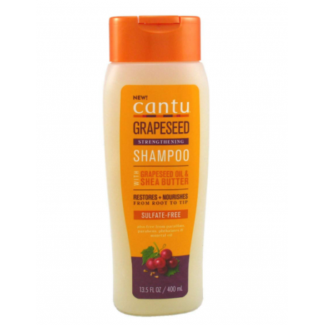 CANTU Shampoing réparateur aux PEPINS DE RAISINS 400ml