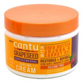 CANTU Crème pour boucles aux pépins raisins 340g