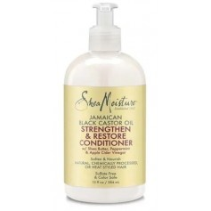 SHEA MOISTURE Conditionneur croissance RICIN Black Castor Oil 384ml