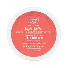 HAWAIIAN SILKY Ultra nourishing hair butter TRIPLE BUTTER 113g