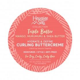 HAWAIIAN SILKY Crème définissante pour boucles TRIPLE BUTTER 340g