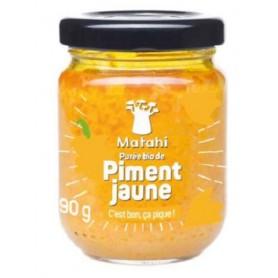 MATAHI Organic yellow pepper puree MATAHI ORGANIC 90g