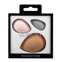 Kit 3 éponges à maquillage sans latex