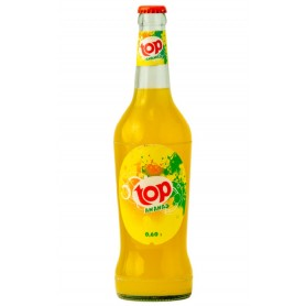 Pineapple-flavoured soft drink TOP 60cl