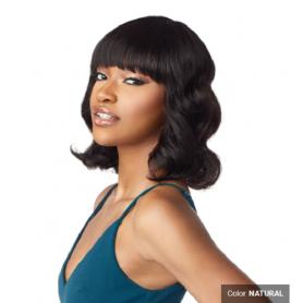 "SENSATIONAL wig 10A BODY WAVE 12"""