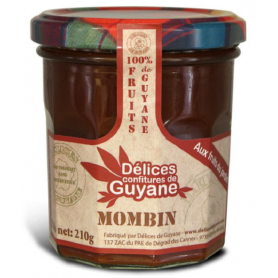 French Guiana Delights Organic Mombin Jam 210g
