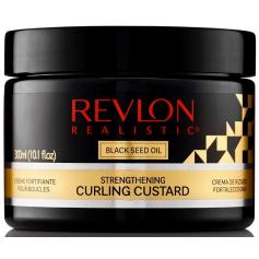 Crème fortifiante pour boucles REALISTIC 300ml (Custard)