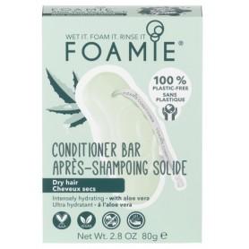 FOAMIE Après-shampoing solide pour cheveux secs 80g
