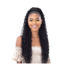"MILKYWAY postiche BEACH CURL 28"" (Organique Pony Tail)"
