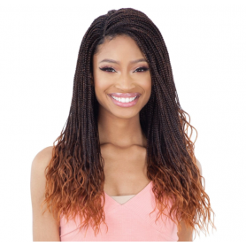 """EQUAL wig MICRO GORGEOUS BAID 22"""" (Lace Front)"""