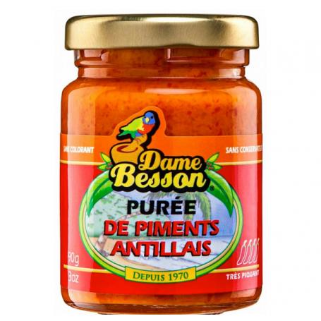 Purée de piments antillais DAME BESSON 90g