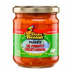Purée de piments végétariens DAME BESSON 180g