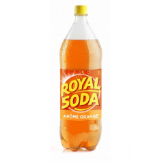 ROYAL SODA Boisson gazeuse saveur ORANGE 2L *