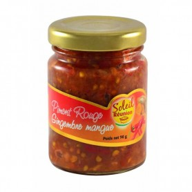 SOLEIL RÉUNION Piment rouge au gingembre et la mangue 90g