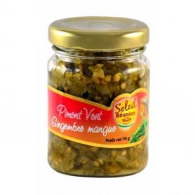 SOLEIL RÉUNION Piment vert au gingembre et à la mangue 90g