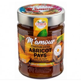 GUY LESUEUR Jam of ABRICOT PAYS M'AMOUR 325g