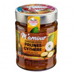 Confiture de PRUNE CYTHERE M'AMOUR 325g