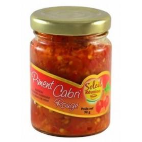 SOLEIL REUNION Pate de piment rouge cabri 90g