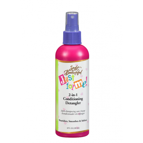 JUST FOR ME Après shampoing sans rinçage SOFT & BEAUTIFUL 236ml