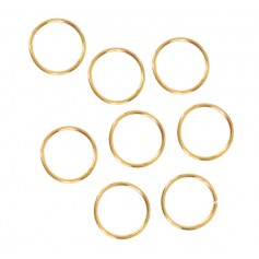 GOLDEN rings for braids and locks
