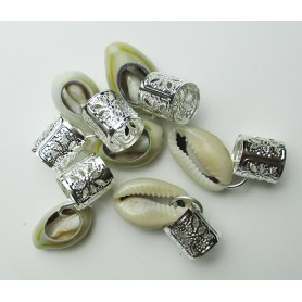 BEAUTY TOWN Rings for mats and locks COQUILLE