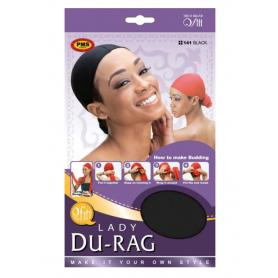 QFITT LADY DU-RAG BLACK Scarf