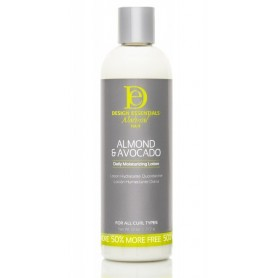 DESIGN ESSENTIALS Lotion capillaire hydratante ALMOND & AVOCADO 355ml