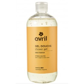 AVRIL Gel douche COEUR D'ABRICOT BIO 500ml