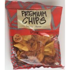 Chips sucrées à la banane plantain doux 85g