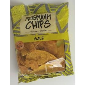 PREMIUM CHIPS Chips à la banane plantain salées 85g