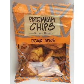 Chips banane plantain doux et épicées 85g