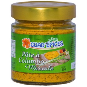 GUAD'EPICES Pâte de Colombo & Massalé 190g
