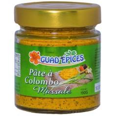 Pâte à Colombo & Massalé 190g
