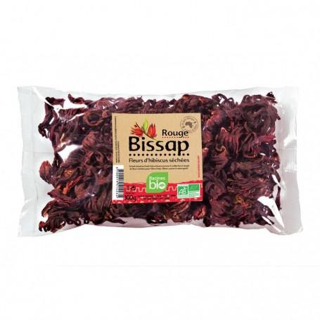 RACINES BIO Fleur d'hibiscus rouge BISSAP RACINES BIO 100g