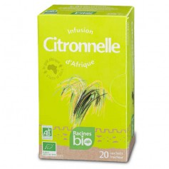 20 infusions CITRONNELLE RACINES BIO (20 x 1,6g)