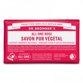 DR.BONNERS Savon solide PUR VEGETAL BIO 140g