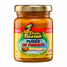 Purée de piments Colombo DAME BESSON 90g